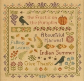 Antique Autumn Sampler
